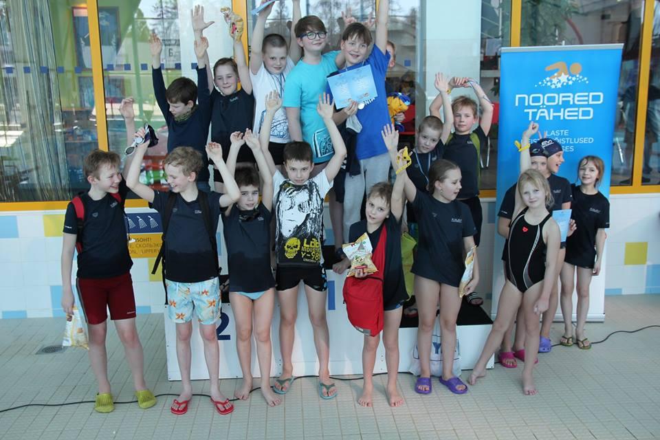Noorte ujujate tihe nädalavahetus