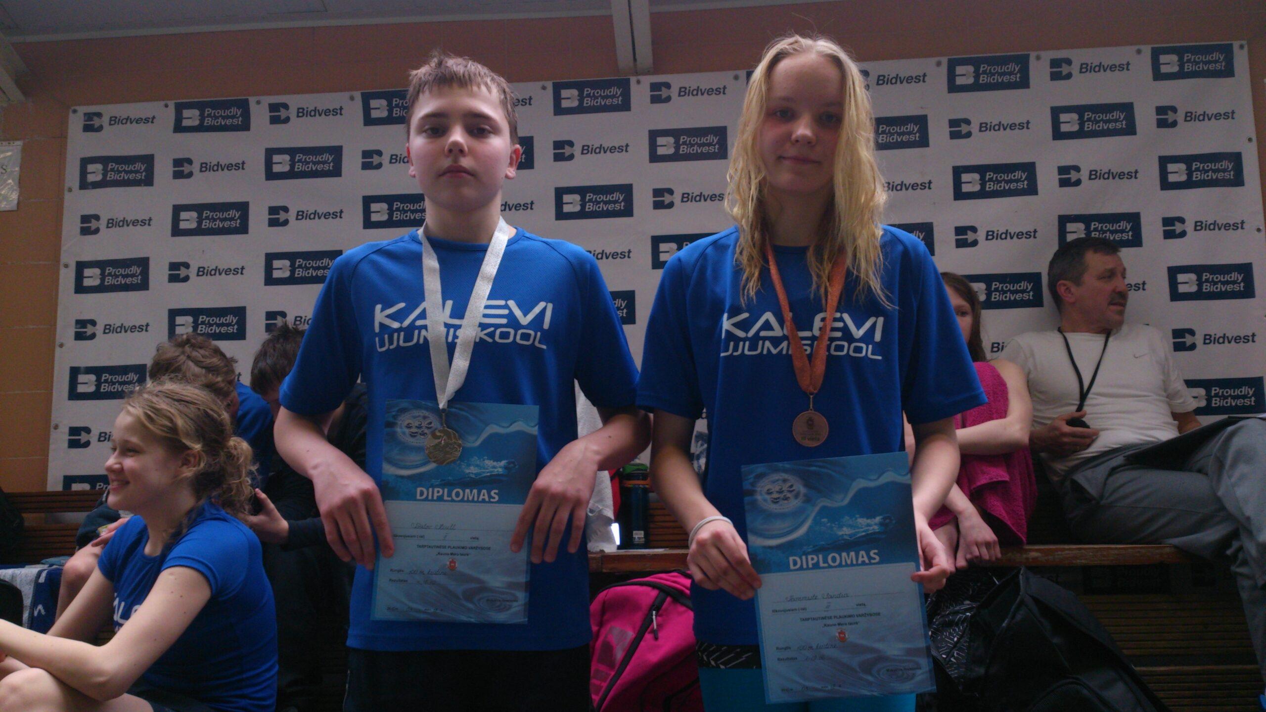 Tammiste ja Tšalov olid Leedus toimunud võistlusel edukad