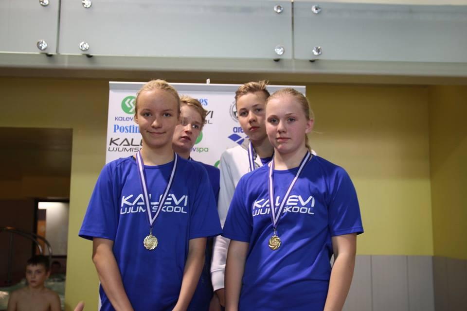 Noortesarja III etapilt võitsime 10 medalit
