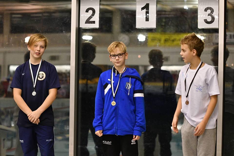 Rahvusvaheliselt võistluselt Soomes meie klubi ujujatele 23 poodiumikohta