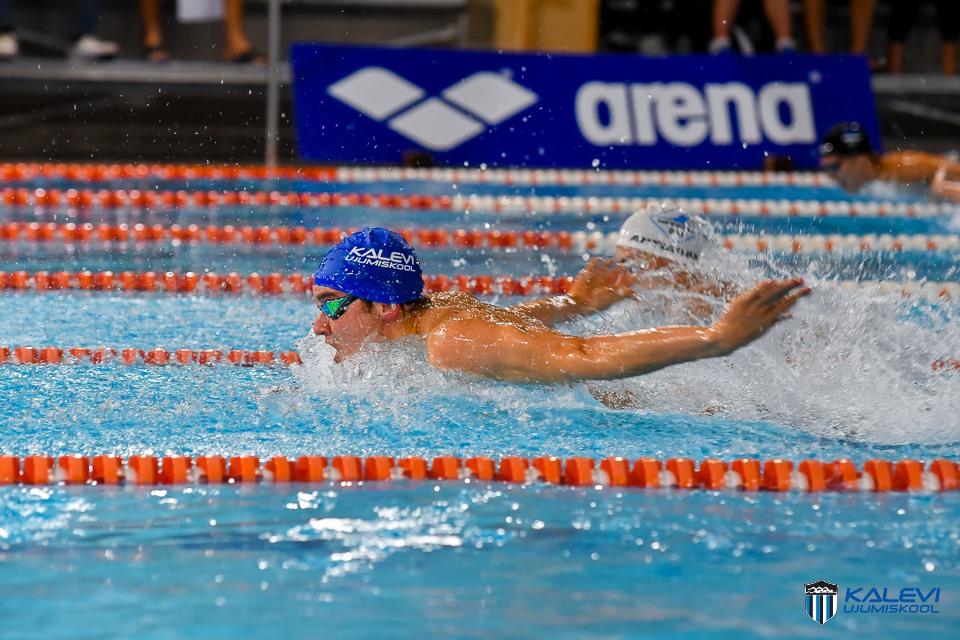 Põhjamaade MV avapäeval kindlustasid viis ujujat endale koha finaalis