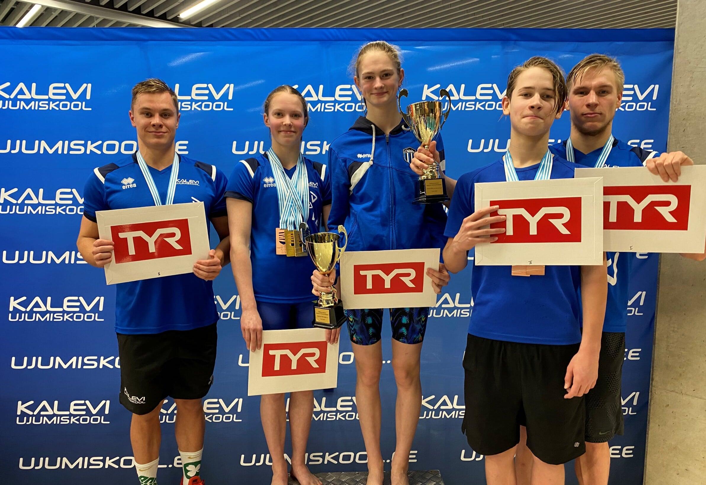 Aedma, Jefimova ja Toompuu särasid Tallinna meistrivõistlustel
