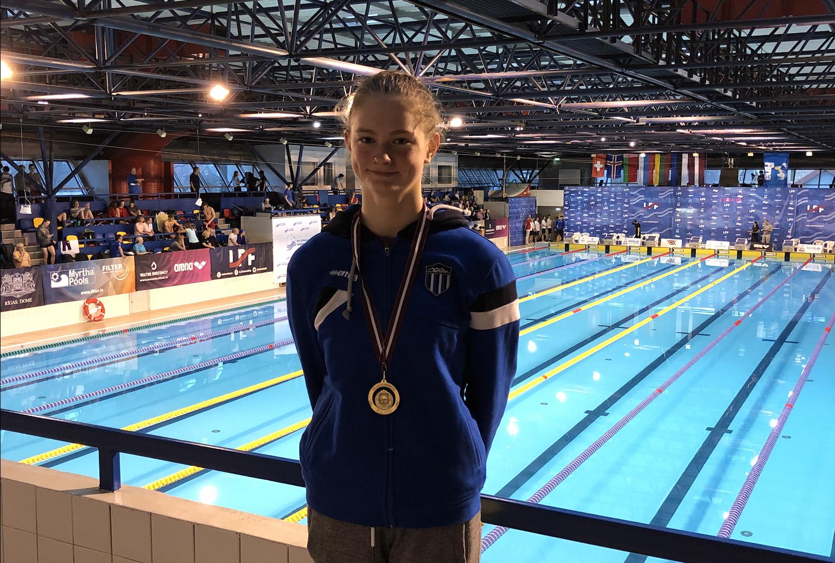 VÕIMAS ALGUS! Eneli Jefimova ujus kahe stardiga neli Eesti rekordit ja tuli Läti meistriks
