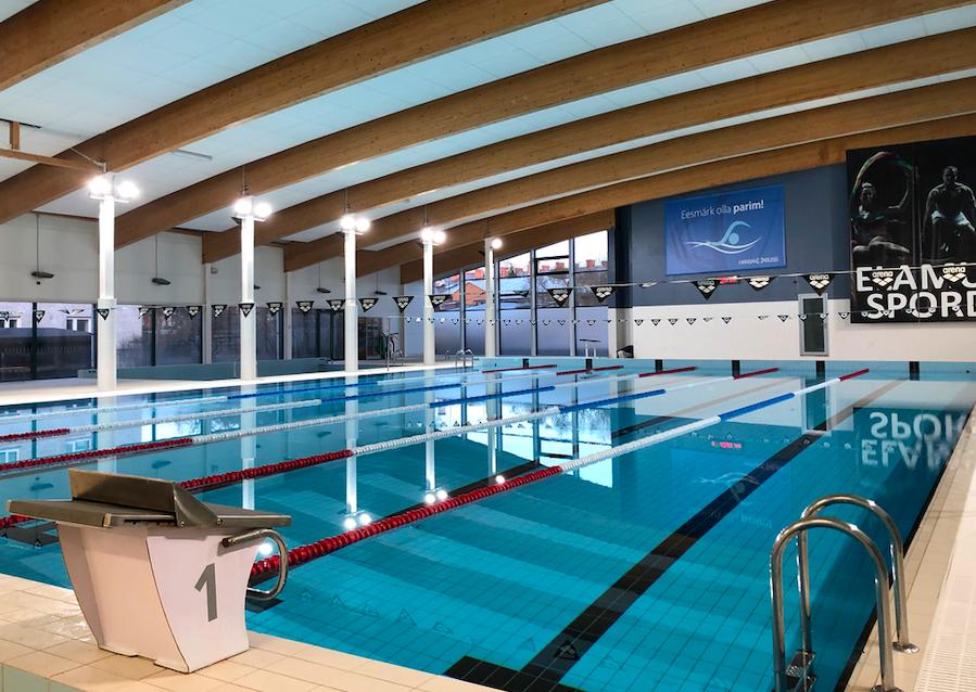 Kaks ujumiskooli õpilast jätkavad ettevalmistust olümpiaks Audentese Spordikeskuses