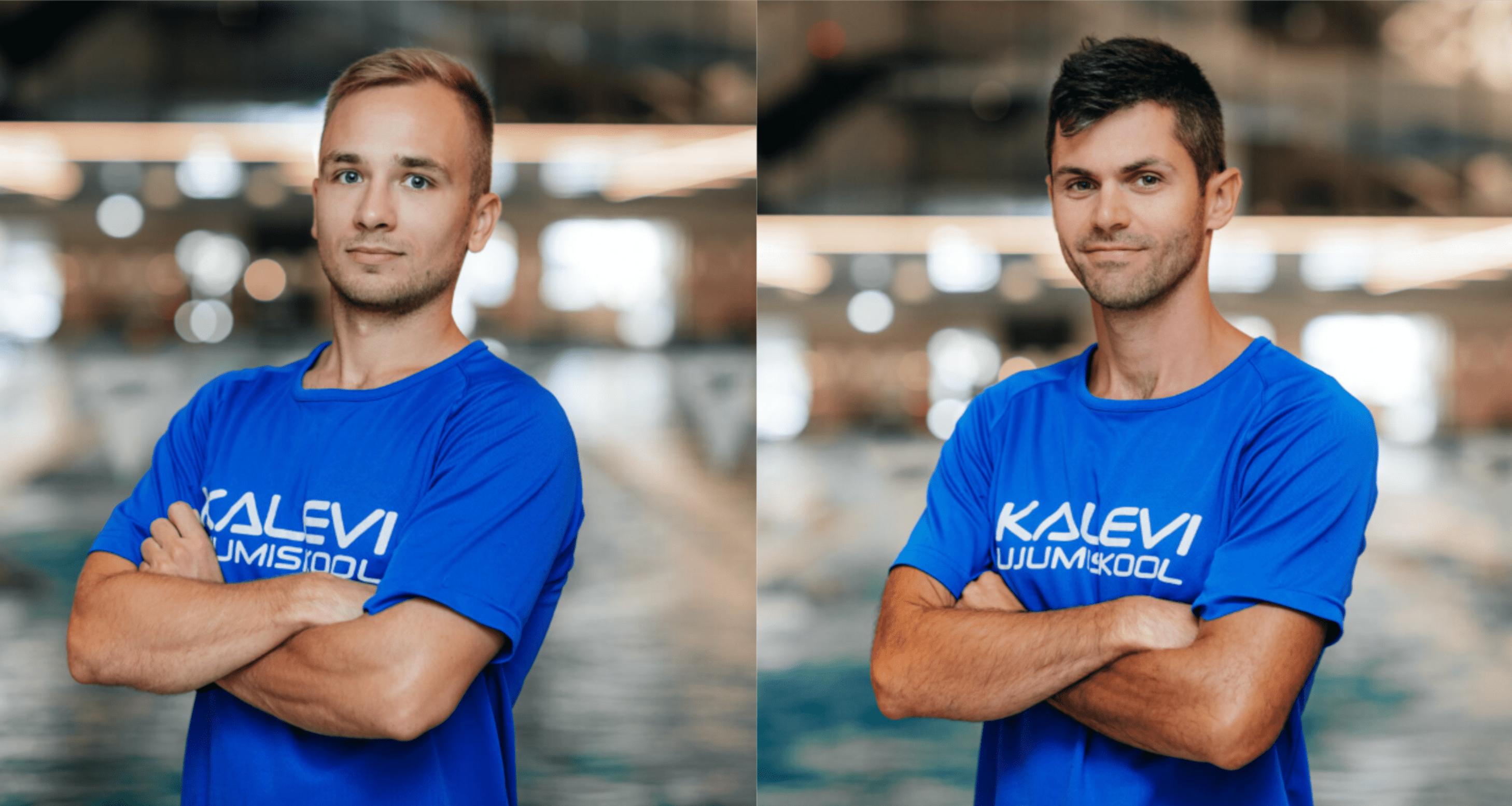 Ujumiskooli treenerite tiimiga liitusid Mart Mandel ja Pavel Anufrijev
