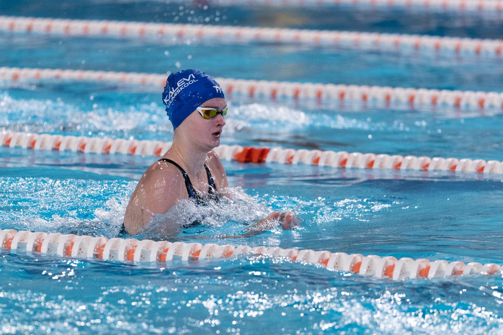 Teisel võistluspäeval lisandus 17 medalit, teatenelik ujus Eesti juunioride rekordi