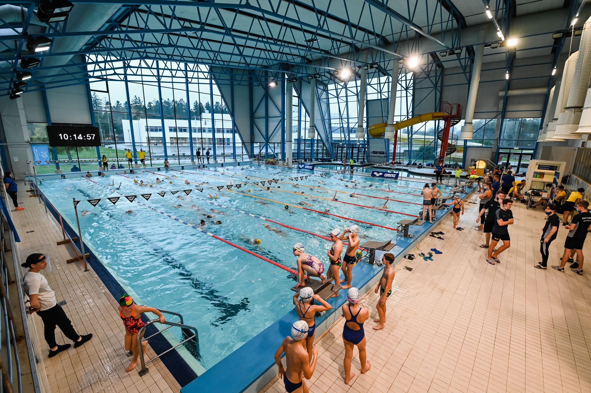 Noored ujujad näitasid Keilas toimunud võistlusel head minekut