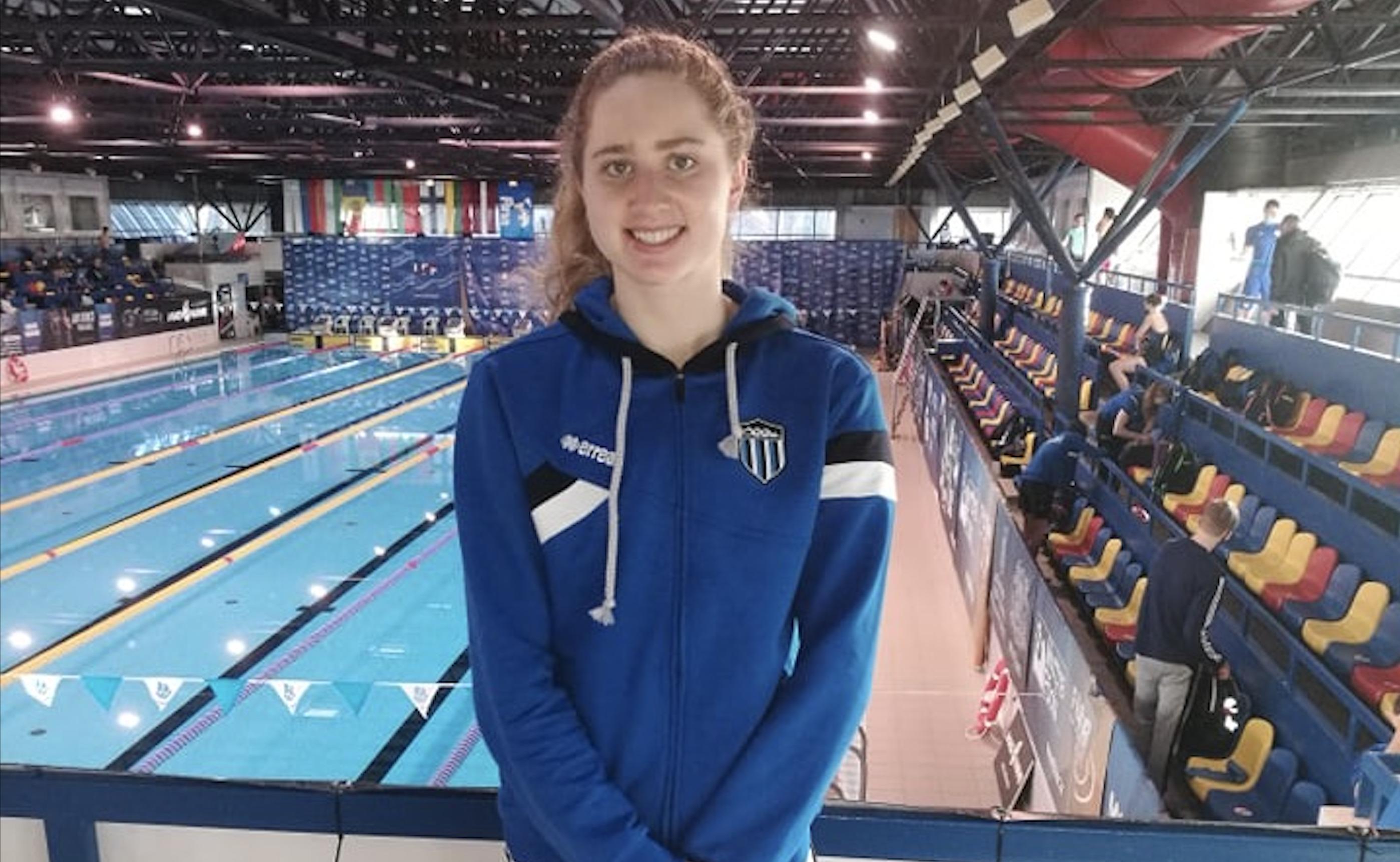 Aleksa Gold püstitas Ujumiskooli debüüdil Eesti rekordi