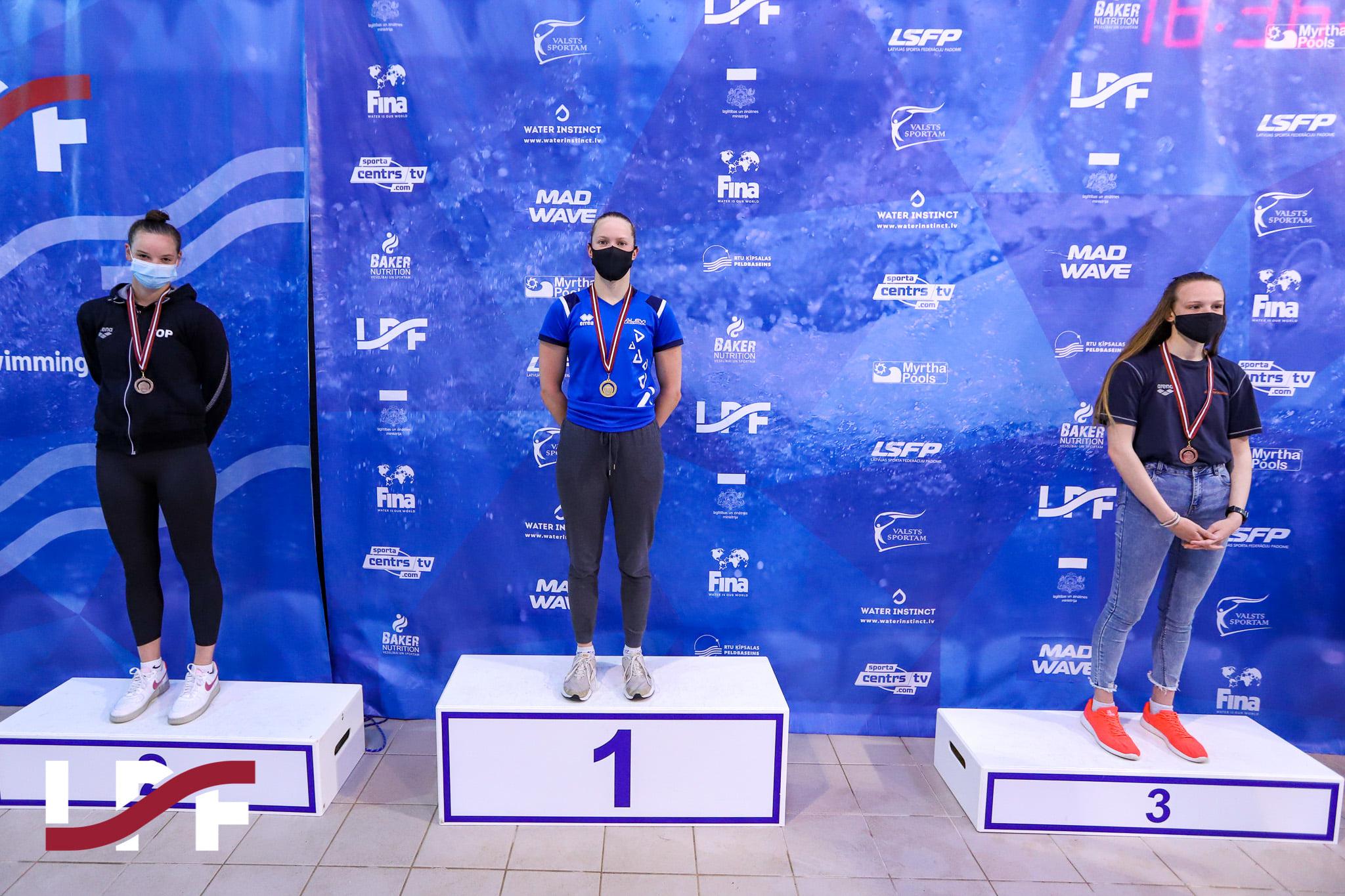 Lätis peetud mõõduvõtult naasesid meie ujujad üheksa medaliga