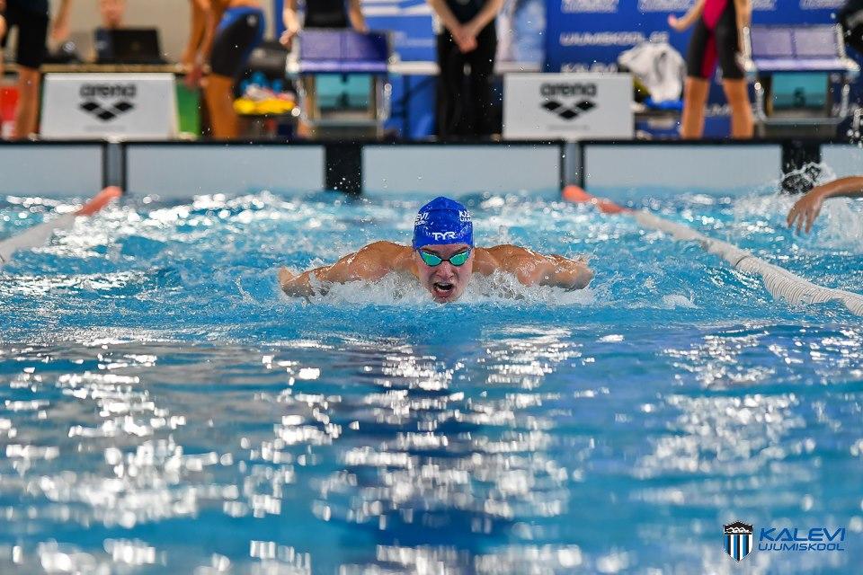 Ujumiskooli võistkond teenis Eesti lühiraja meistrivõistlustel 24 medalit