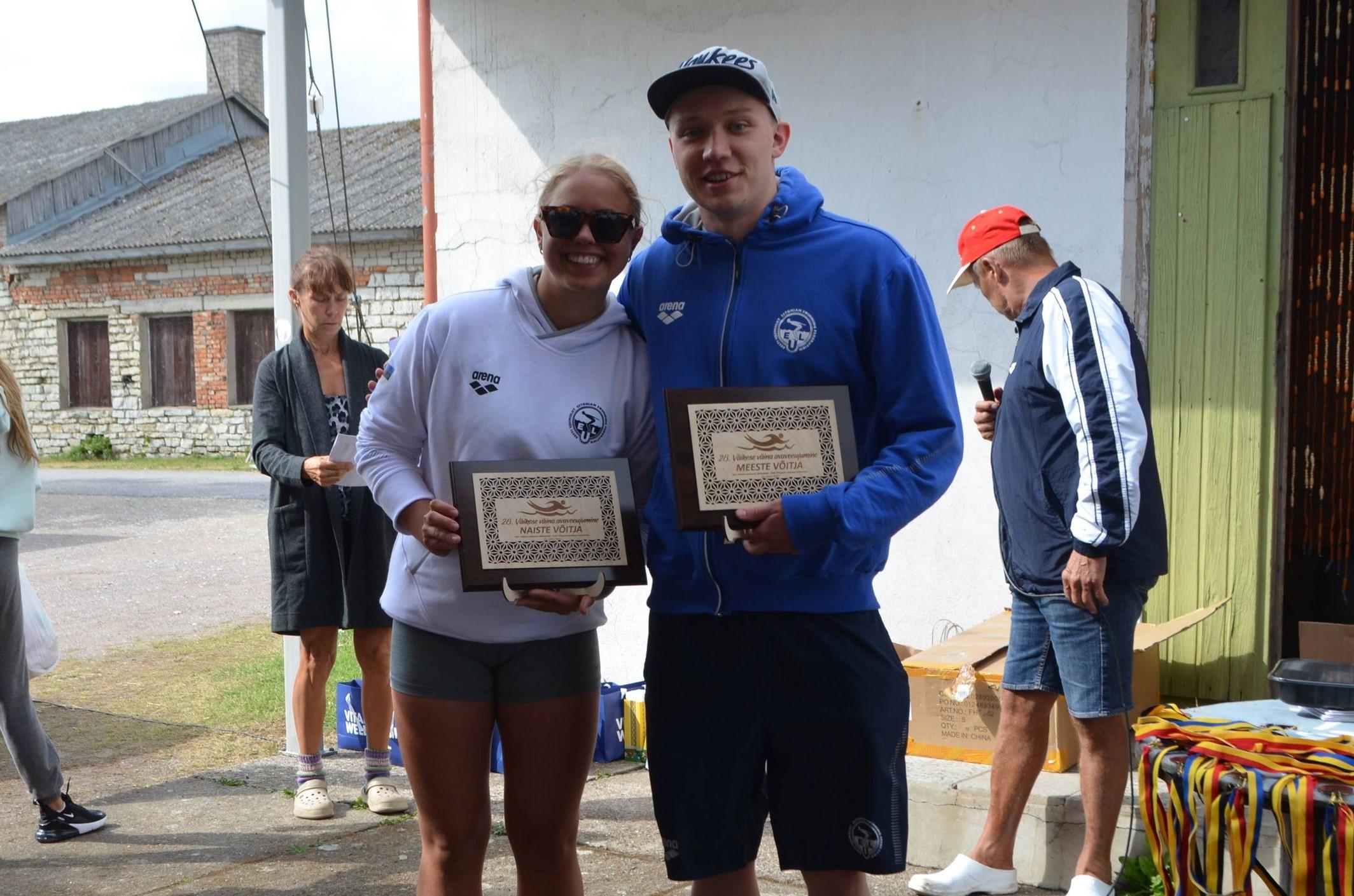 Kõige kiiremini ujusid ühelt saarelt teisele meie sportlased